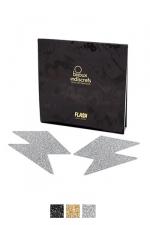 Bijoux de seins Flash Eclair : Avec ces décorations permettant de cacher les mamelons, osez laisser le soutien-gorge au placard !