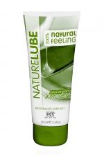 Lubrifiant Naturel Aloe Vera 100ml - HOT : Lubrifiant intime à base d'eau contenant de l'Aloe Vera et des produits naturels. Tube classique de 100 ml.