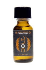 Poppers Jolt Silver Amande 25ml : Puissant arôme d'ambiance aphrodisiaque à l'odeur d'amande. Poppers made in France by Jolt, Nitrite de Propyle, flacon de 25 ml.