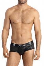 Shorty Elektro - Anaïs for Men : Superbe shorty pour homme au design moderne qui joue avec la transparence.